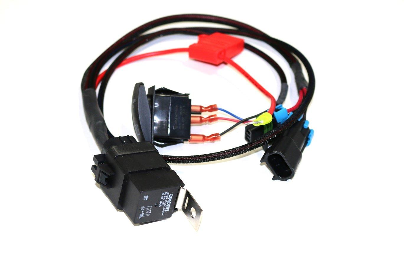 XTC Power Products Premium 2016 Polaris Turbo RZR XP1000 Manual Fan Override Switch Kit XTC Motorsports 16RZR-T-FAN-OVR