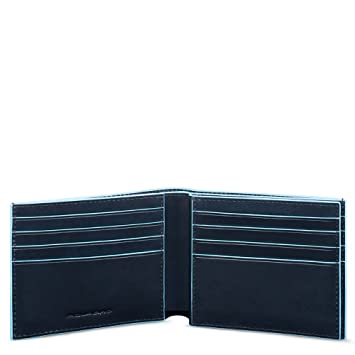 Piquadro Blue Square Porte-monnaie, 0.43 liters, (Mogano)