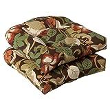 Pillow Perfect Indoor/Outdoor Brown/Green