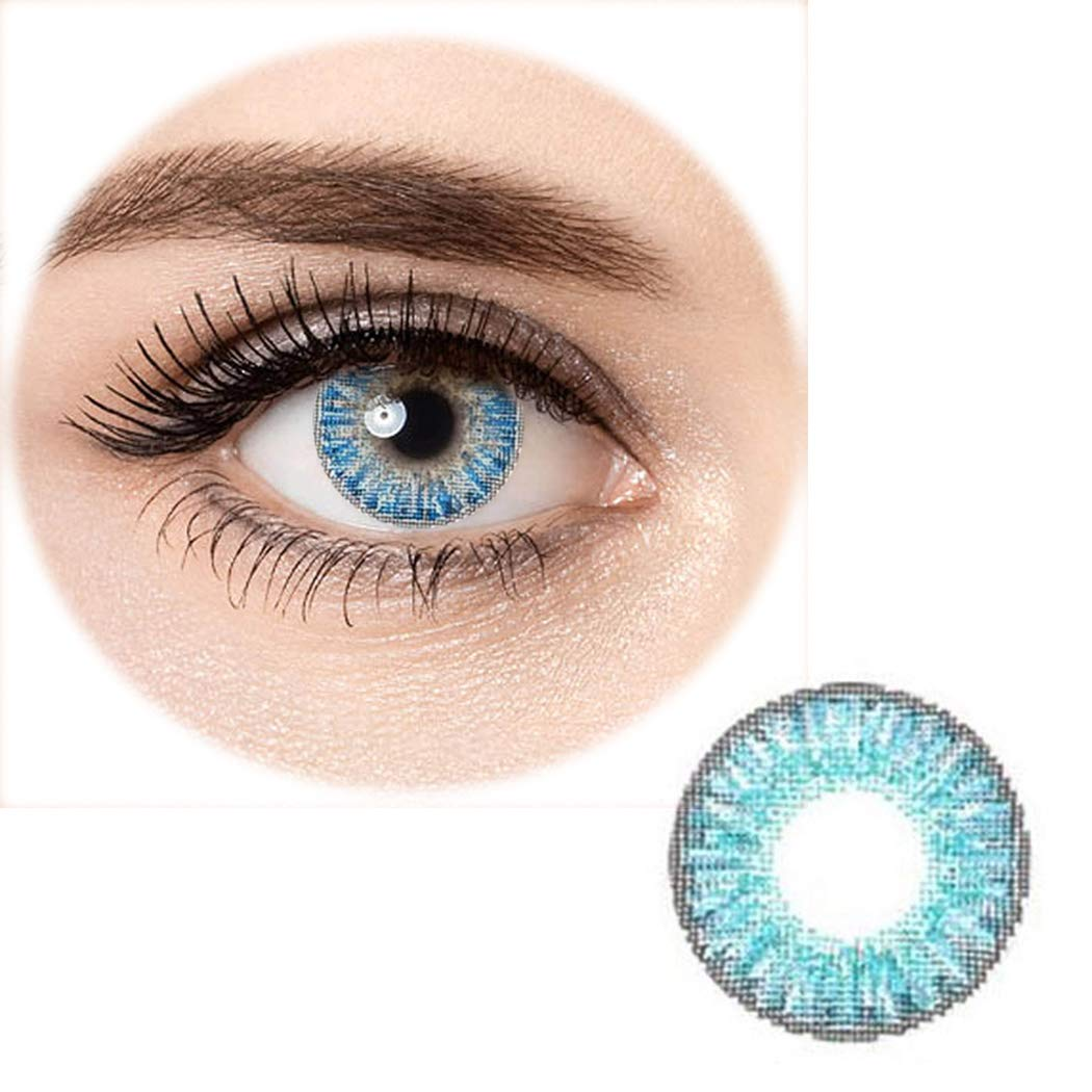 Kizaen Women Multi-Color Cute Charm and Attractive Fashion Contact Lenses Cosmetic Makeup Eye Shadow Brilliant