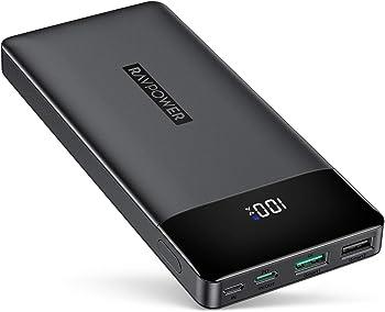 RAVPower 30W 15000mAh PD 3.0 Portable Power Bank