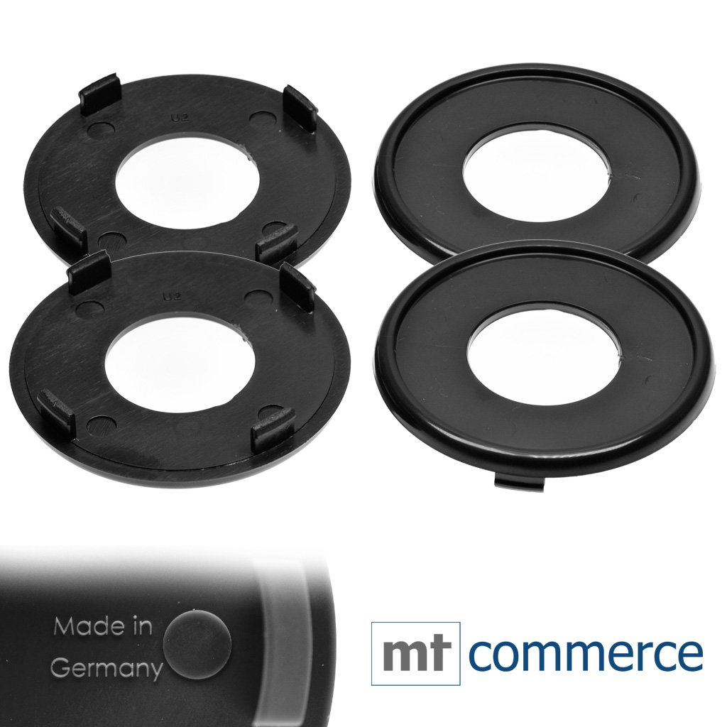 53/mm Scorpione motivo Diametro 4/X Custodia in silicone di//emblemi per mozzo Caps