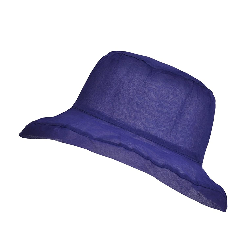 TOUTACOO Sombrero para el Verano de Mujer, Organza de algodón ...