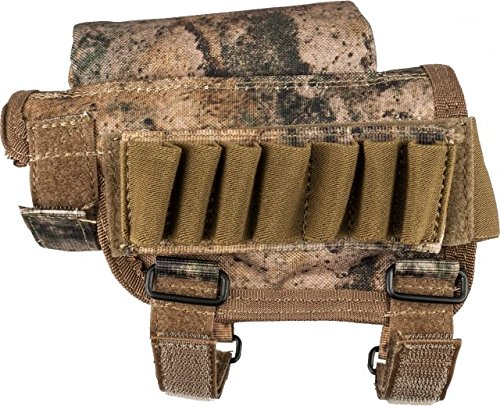 (VooDoo Tactical 20-9421105000 Buttstock Cheek Piece with Ammo Carrier)