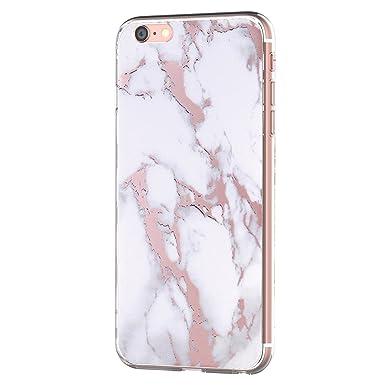 Funda iPhone 6 iPhone 6S, Teryei® Suave Silicona Carcasa ...