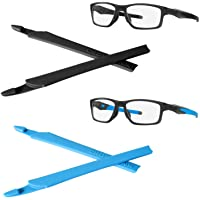 StaySoft Temple Ear Socks Nose Pads for Oakley Crosslink PRO Switch Sweep Eye Glass Frame