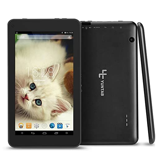 7 opinioni per Yuntab 7 Pollici Tablet PC T7 Wifi tablet,OTG External 3G RAM 512MB ROM 8GB NAND