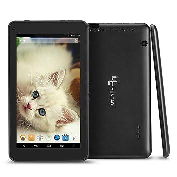 Yuntab T7 Tablet de 7 pulgadas (Procesador Quad Core,WiFi,Android 4.4.