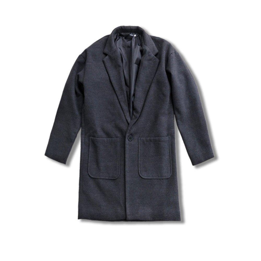 Männer - Mode und lässig Pelzmantel weiten Mantel Mantel Mantel,b,die