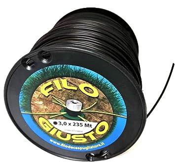 Oferta de lanzamiento - Hilo para desbrozadora redondo 3 mm ...