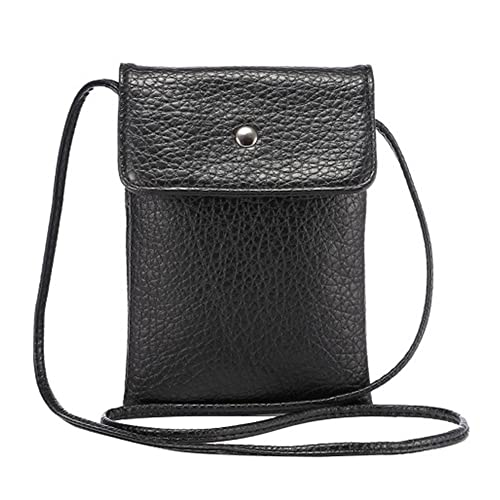Small Crossbody Bag PU Leather Wallet Purse Cellphone Pouch with Shoulder  Strap for Women Girls Fit 5e8364913c5f7