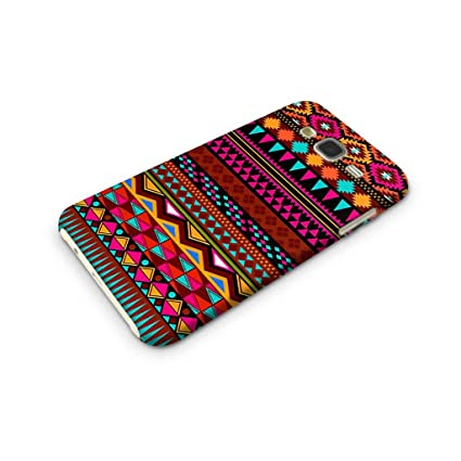 reputable site 1c967 13514 Cover Affair Aztec Printed Designer Slim Light Weight Back Cover Case  Compatible with Samsung Galaxy J7 2015 Edition (Pink & White & Blue & Black  & ...