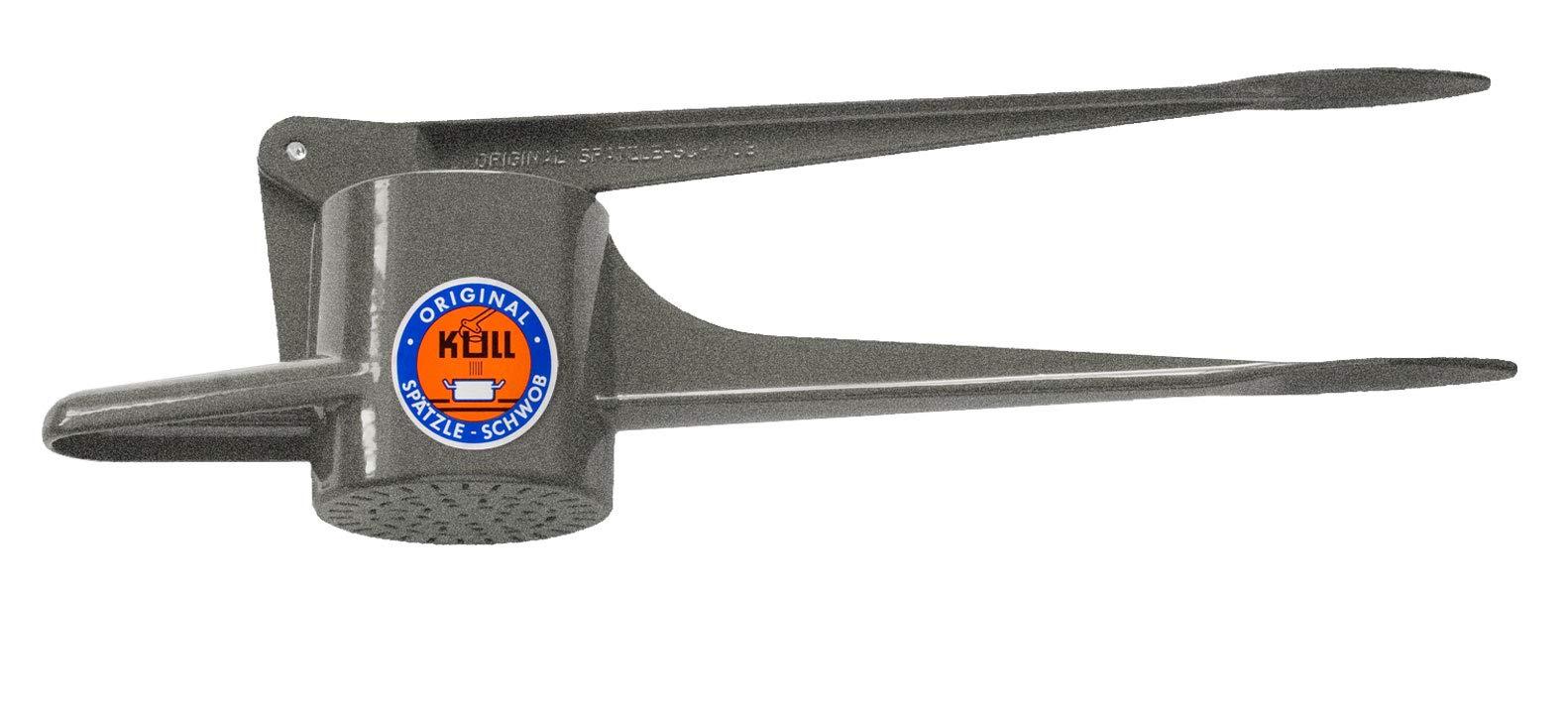 Original Kull Spaetzle-Schwob GRANITE, Spaetzle Press / Spaetzle Maker - suitable for dishwasher! PREPARE OWN PASTA / NOODLES IN A FEW MINUTES! Incl. Spaetzle Recipe! Also POTATO RICER! by B-Bonnie