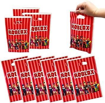 ideali come sacchetti per feste o per feste 24 pezzi Roblox Scatole per feste sacchetti di compleanno