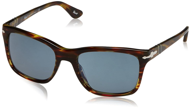 Persol Herren Sonnenbrille 0PO3135S, Grau (Opal Grey 103631), One size (Herstellergröße: 55)