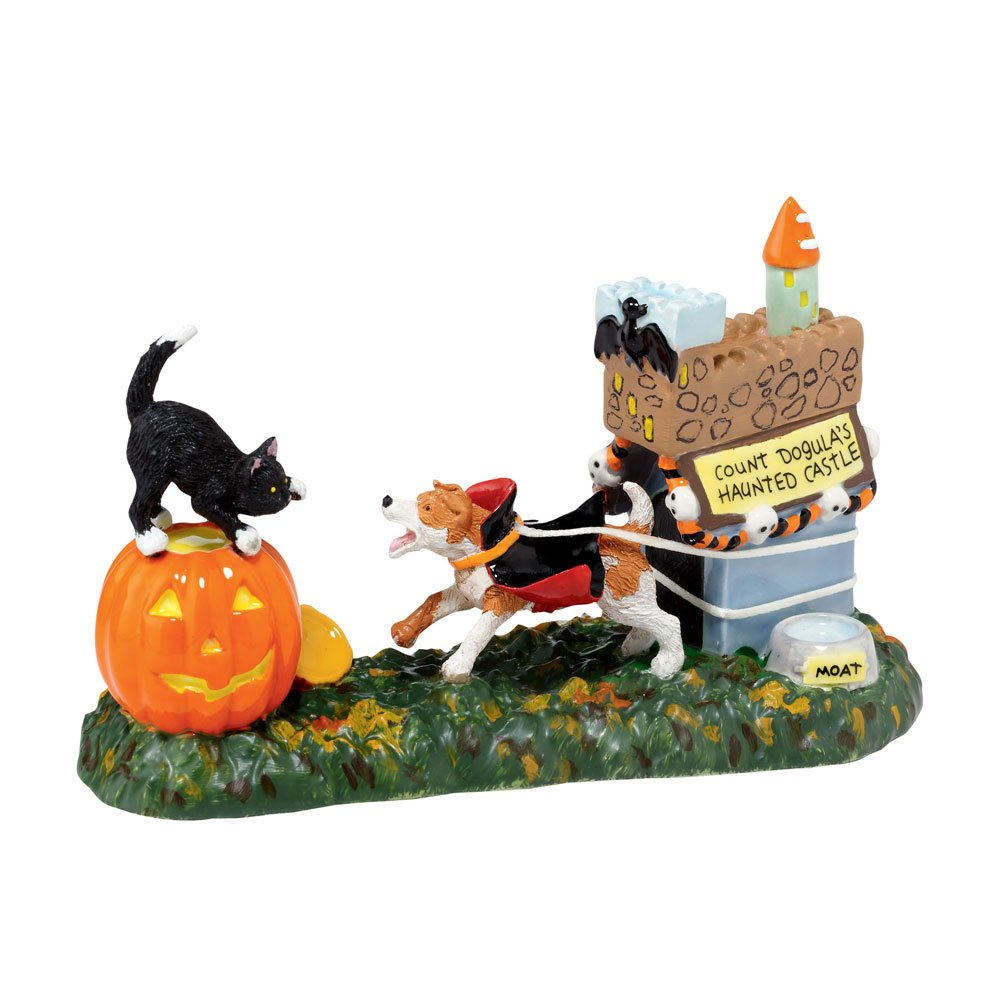 Department 56 Snow Village Halloween Count Dogula Accessory Figurine