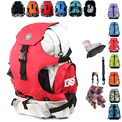 Denuoniss Professional Inline Skates Travel Backpack (#2 Above 40/7): Clothing