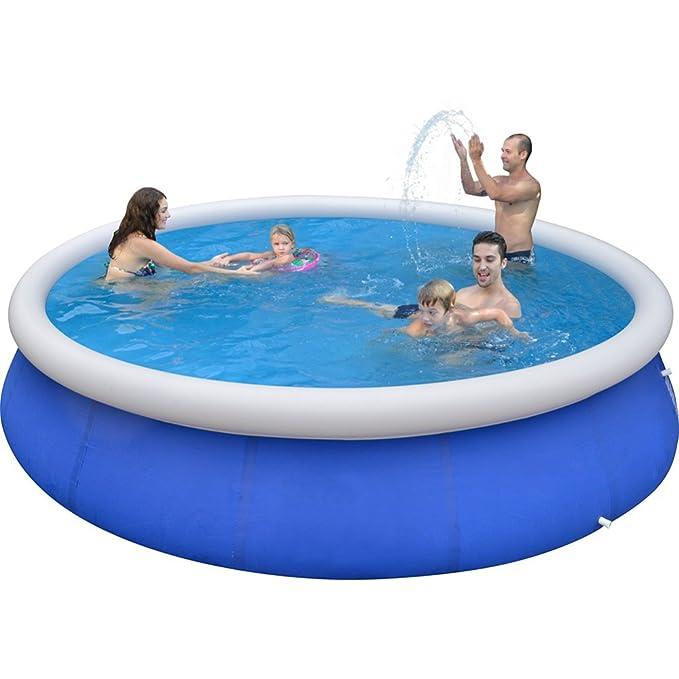 FAFY Fast Set Pools Summer Diversión Al Aire Libre Round Paddling Pool Swim Pool para Niños,240 * 76CM: Amazon.es: Hogar