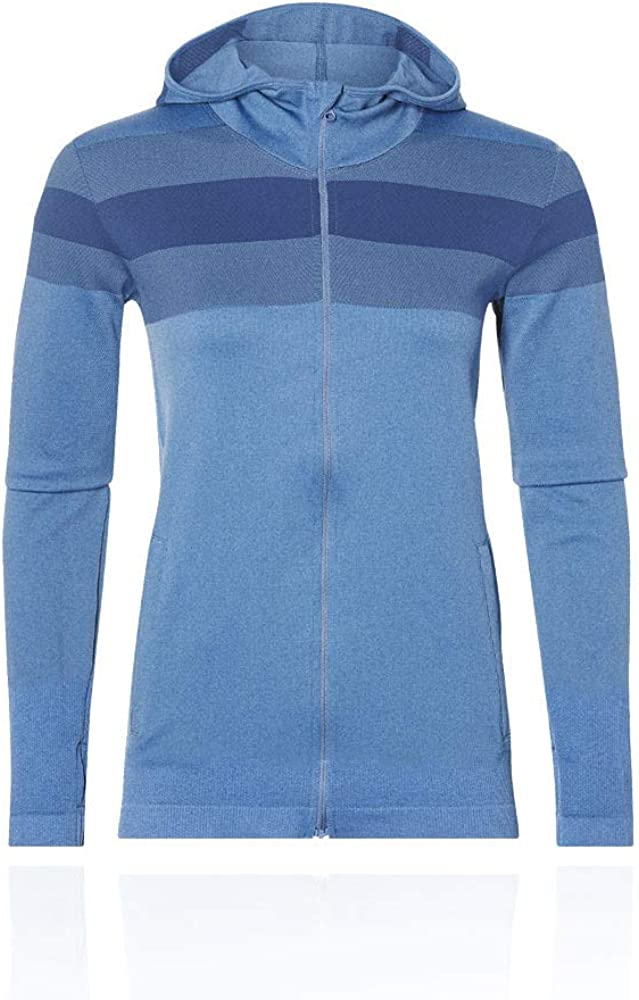ASICS Seamless Full Zip Women's Hoodie: Amazon.co.uk: Clothing