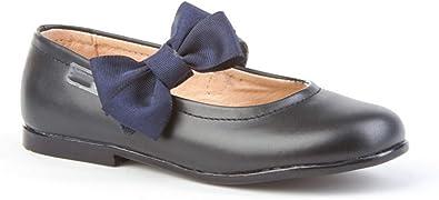 Bailarinas de niña Hechas de Piel. Zapatos Tipo francesitas Hecho en España. Mi Pequeña Modelo 519I Color Azul Marino.: Amazon.es: Zapatos y complementos