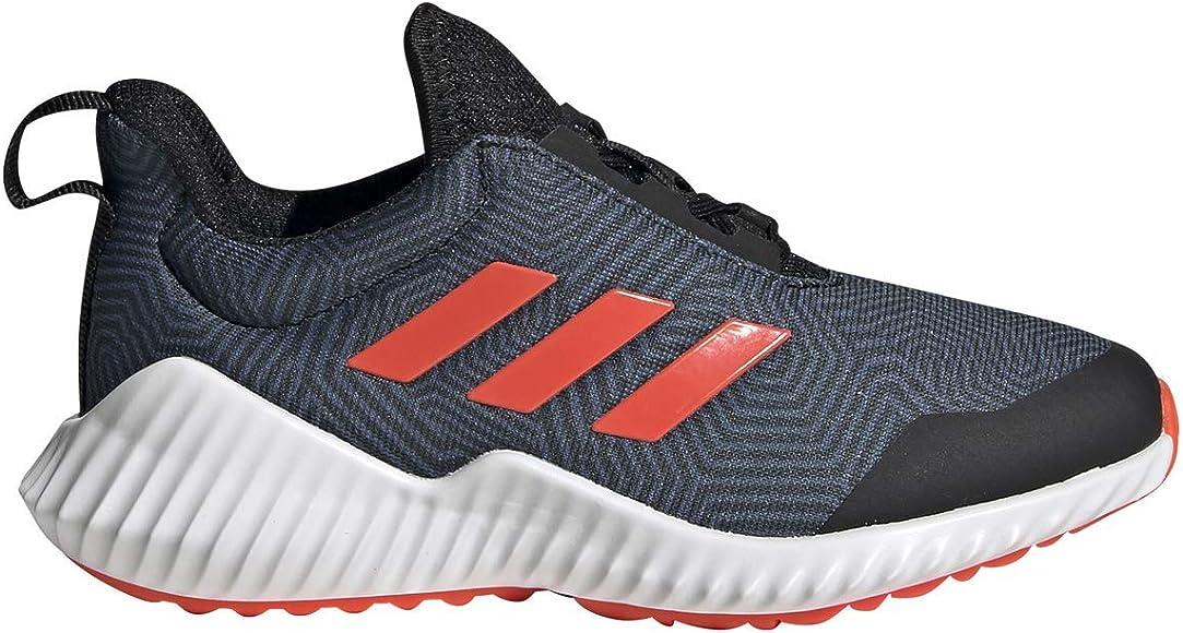 adidas Kids Boys Fortarun Wide (Little Kid/Big Kid) Black/Solar ...