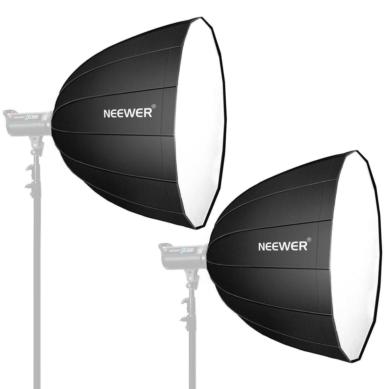 Neewer 2個 36inch/90cmディープソフトボックス 十六角型 クイック折りたたみ式 スピードライト、スタジオフラッシュに対応 ポートレートと製品写真撮影に適用   B079PR4J1F