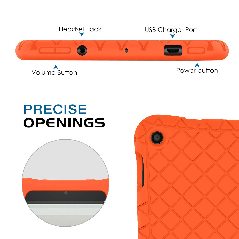 Lightweight Cubierta Shockproof Cover Case Esquina Silicona Protector Compatible conchoques 9th Gen 2019 /& 7th Gen 2017 Modelo Menta Verde MoKo Funda para Nuevo  Fire HD 10 Tableta