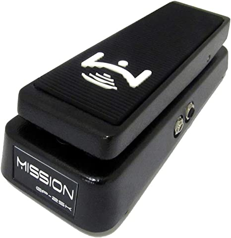 Flat Black Mission Engineering Inc EP-HR 25k Expression Pedal for HeadRush