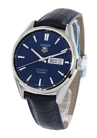 innovative design dfee2 7c71d Amazon | タグホイヤー カレラ アリゲーターレザー 腕時計 ...
