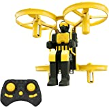 Mini Nano Drone for Kids, Lefant Jetpack 2.4GHz Small Micro RC Quadcopter RTF Drone Remote Control Kids Toys Drone for Beginners with 6-Axis Gyro 3D Flips Altitude Hold One Key Take Off Landing-Yellow