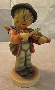 Goebel M.I. Hummel #4 Little Fiddler TMK-3 Figurine Germany Arthur Moeller