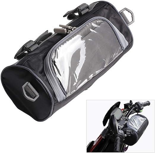 Bitcircuit bolsa para manillar de motocicleta, accesorios para ...