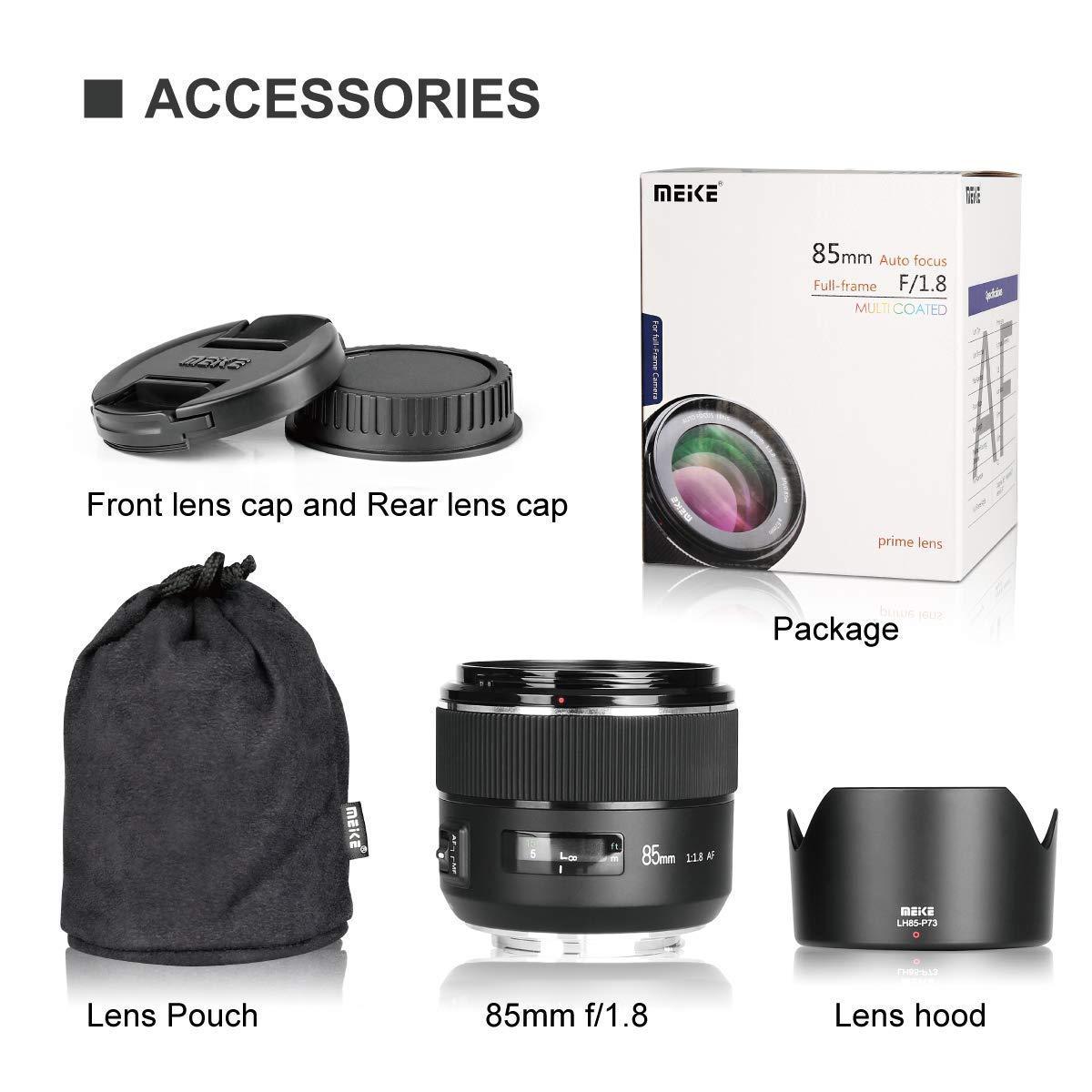 Meike カメラアクセサリー ソニー用 バッテリーグリップ スピードライト マクロエクステンションチューブセット lens MKSA-P lens 85mm1.8canon B07HVVY6SD