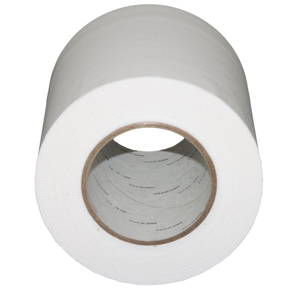 6'' x 180' x 7.5 mil Collision Crash Wrap Tape Polyethylene Serrated Edge Weather Moisture Resistant Seal Wrap Secure