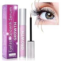 Wimpernserum und Augenbrauenserum 5ml Wimpern Booster Lash Serum mit Hyaluronsäure für Wimpernwachstum und Augenbrauenwachstum mit lange Wimpern und Augenbrauen