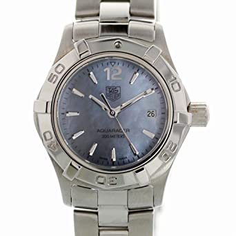 2fa08efbe83 Image Unavailable. Image not available for. Color  Tag Heuer Aquaracer  Quartz Female Watch WAF1417 (Certified Pre-Owned)