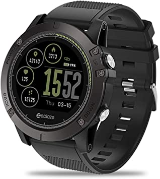 1.22 inch Garsent smart watch, color IPS screen with Bluetooth 4.0 ...