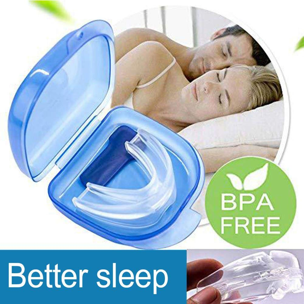 Snore Stopper Mouthpiece, LEEGOAL Snoring Solution Anti Snoring Devices Sleep Aid Custom Fit Night Mouth Guard Bruxism and Snoring Solution