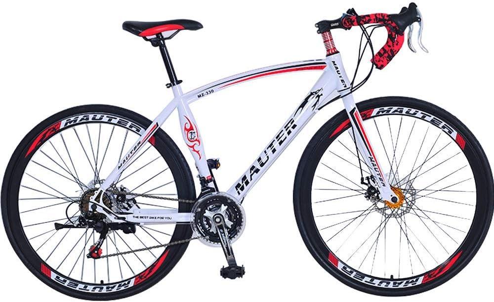 LKJCZ Bicicleta de montaña Plegable Bicicleta para Hombres y ...