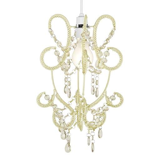 Modern and elegant hanging chandelier shabby chic jewel beaded modern and elegant hanging chandelier shabby chic jewel beaded ceiling pendant light shade aloadofball Choice Image