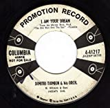 I Am Your Dream/The Old Man And The Sea (VG PROMO 45 rpm)