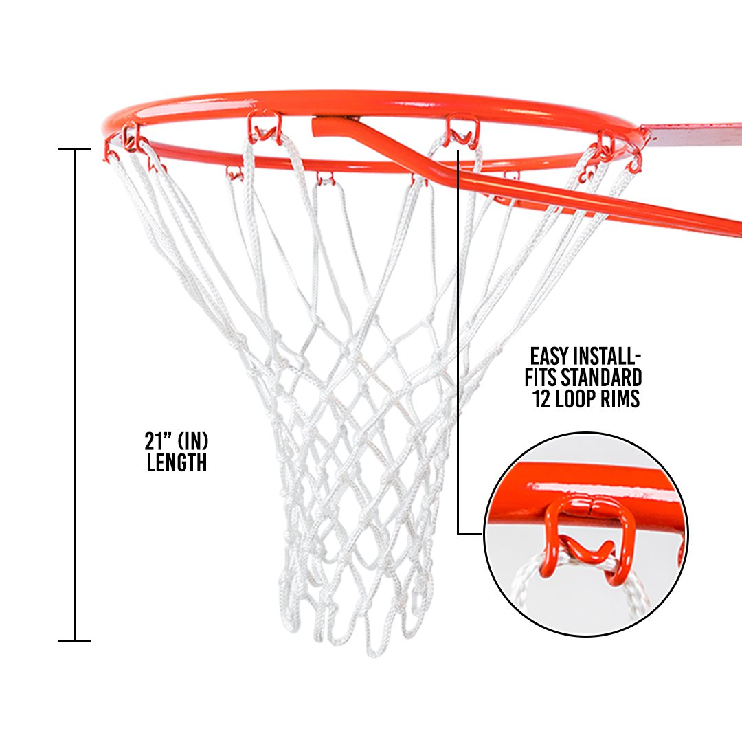 Amazon.com   Ultra Heavy Duty Basketball Net Replacement - All Weather Anti  Whip 7c47d00d7
