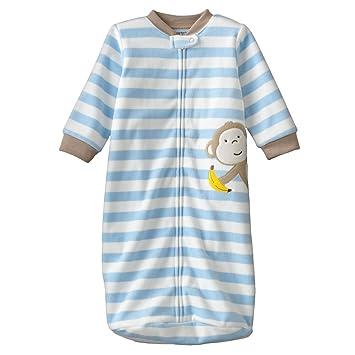 67b2abf5ea Carter s Baby Boys Long Sleeve Fleece  quot Monkey with Banana quot   Snuggle-me Sleep