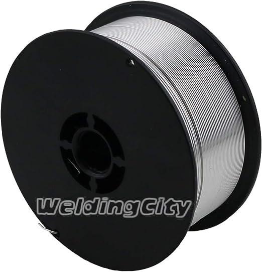 0.8mm WeldingCity E71T-GS Flux Core Gasless Mild Steel MIG Welding Wire 0.030 2-lb Spool
