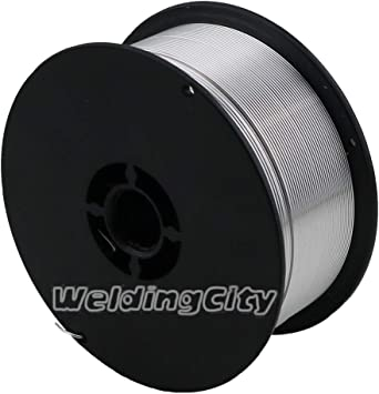 """2-lb Roll 0.8mm WeldingCity Stainless 316L MIG Welding Wire ER316L .030/"""""""