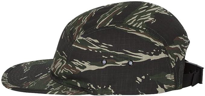 b61811a7636 Amazon.com  Yupoong Jockey Flat Bill Cap. 7005 - Grey  Clothing