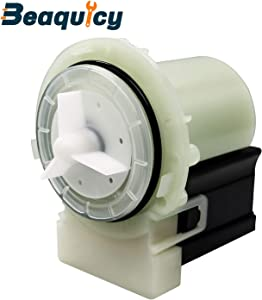 Beaquicy 8181684 280187 Drain Pump Motor - Replacement part for Kenmore Kitchen Aid and Whirlpool Washers-Replaces 280187 8181684 8182819 8182821 46197020148
