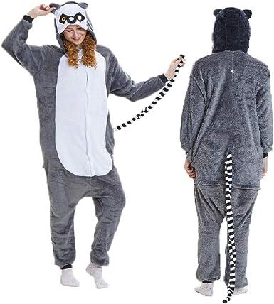 AdorabFitting Pijamas De Una Pieza para Adultos Disfraces ...