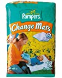 Pampers Care Change Mats 60x60cm 12 per pack