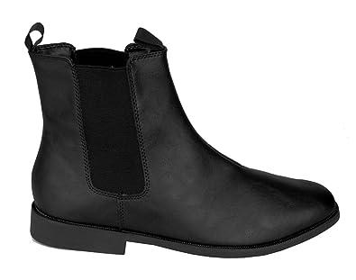 | SharpSpirit Black Vegan Leather Pointy Toe